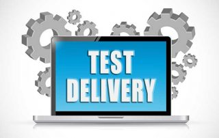 test delivery